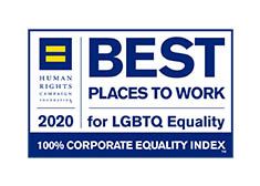 Best Places to Work for LGBTQ Equality 2020